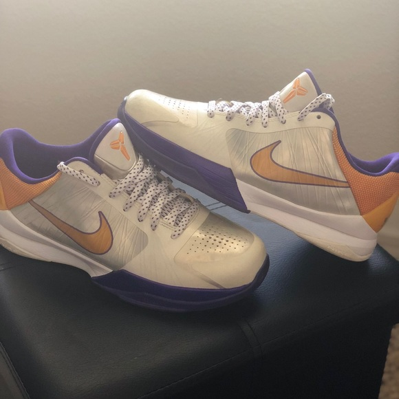 140e67dd06bd reduced nike zoom kobe v 82fac 7d016  usa nike kobe v lakers home del sol  gold purple white 8d7c7 ef886